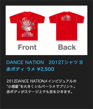 DANCE NATION 2012Tシャツ B